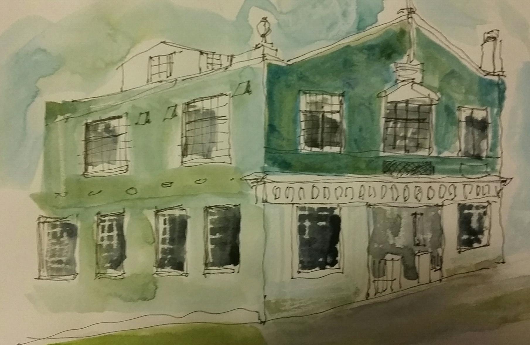 Erin Hill Sketching NZ - General Sketchers Class