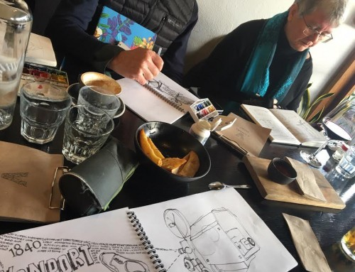 General Sketchers Class Monday 24th, Tuesday 25th and Saturday 29th June 2019