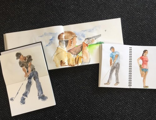 General Sketchers Class Monday 5th, Tuesday 6th, Friday 9th and Saturday 10th August 2019