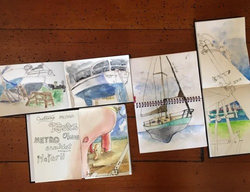 General Sketchers Class Monday 192th, Tuesday 20th, Friday 23rd and Saturday 24th August 2019