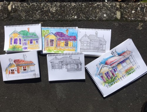 New Sketchers Class Tuesday 20th, Thursday 22nd, Friday 23rd and Saturday 24th August 2019