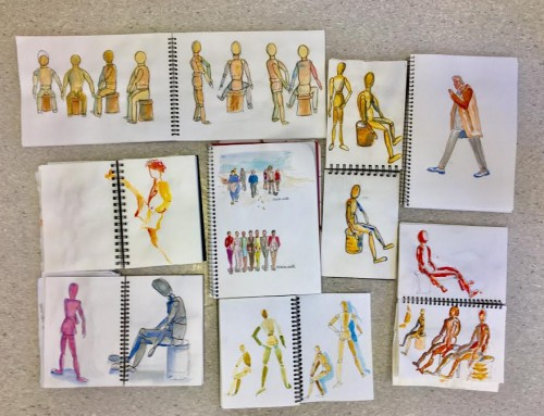 General Sketchers Class Monday 14th, Tuesday 15th, Friday 18th and Saturday 19th October 2019