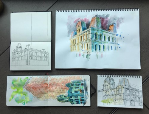 General Sketchers Class Monday 4th, Tuesday 5th, Friday 8th and Saturday 9th November 2019