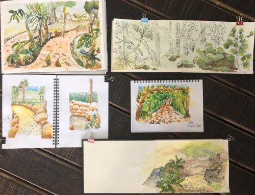 General Sketchers Class Monday 2nd, Tuesday 3rd, Friday 6th and Saturday 7th December 2019