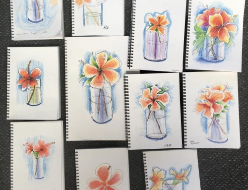 New Sketchers Class Tuesday 11th, Thursday 13th, Friday 14th and Saturday 15th February 2020
