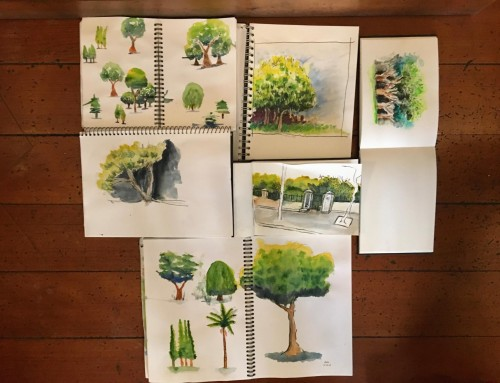 General sketchers week 3 – Trees.