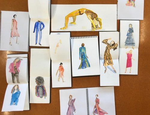 General sketchers : people, mannequins, and watercolour first