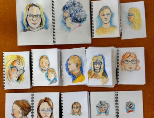 New sketchers. week 7 : Fast people and faces